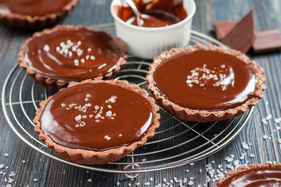 Çikolatalı Deniz Tuzlu Tart Tarifi