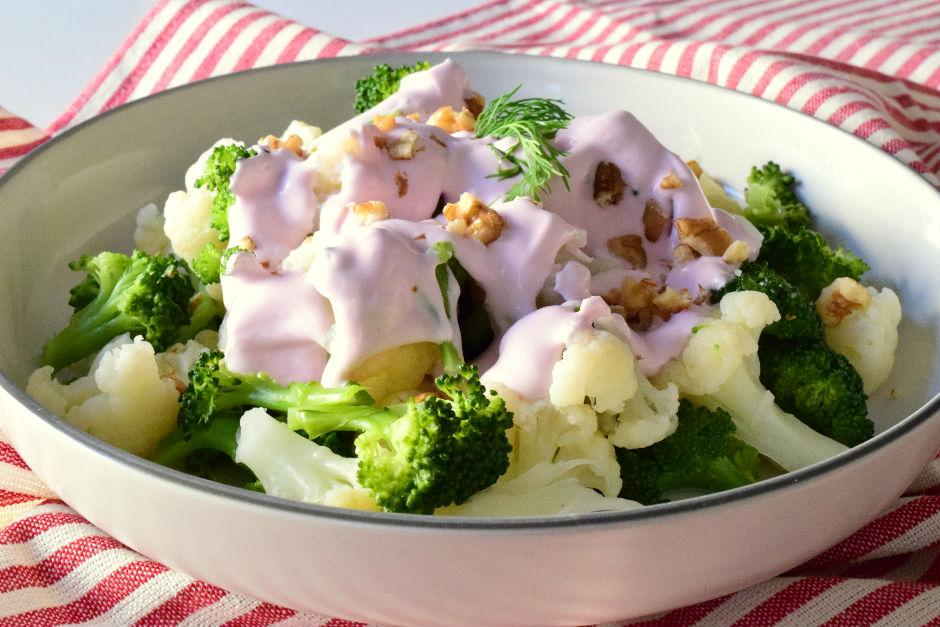 Brokolili Karnabahar Salatası Tarifi