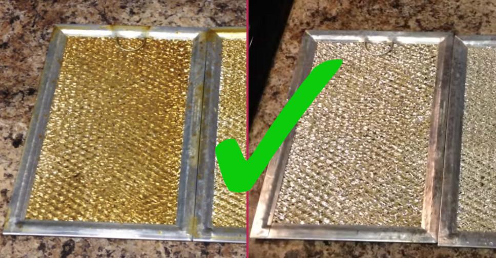 Davlumbazın yağ filtresi nasıl temizlenir