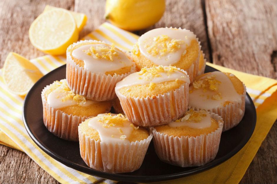 Limon Soslu Muffin Tarifi