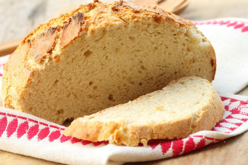 Yoğrulmayan Ekmek Tarifi