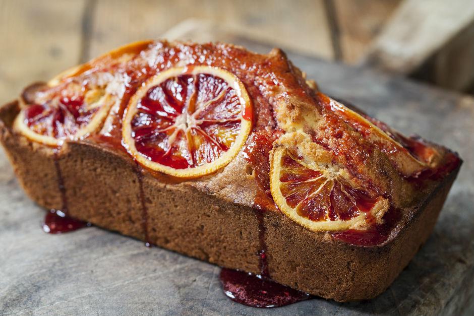 Kan Portakallı Kek Tarifi