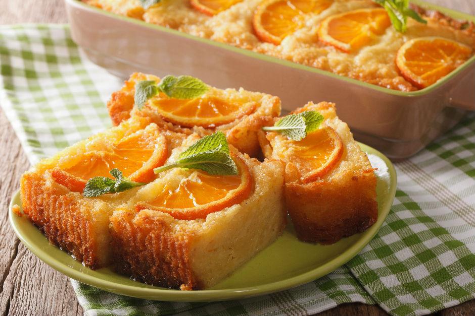 Portakallı İrmik Keki Tarifi