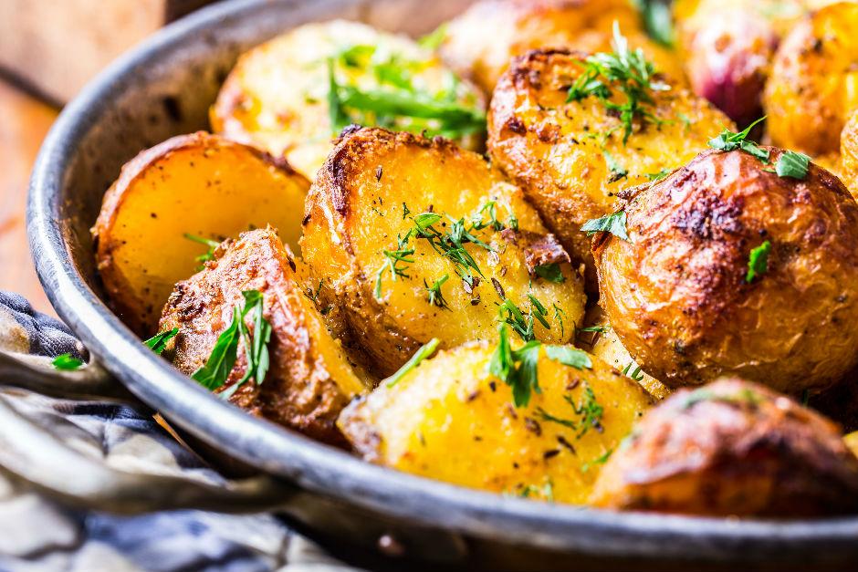 Çıtır Kabuklu Patates Tarifi
