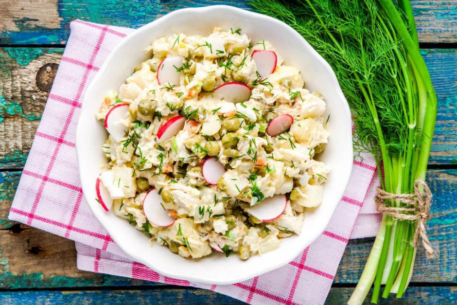 Hardal Soslu Patates Salatası Tarifi
