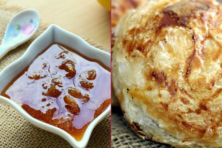 Ege Kahvaltısı: Boyoz, Katı Yumurta, Akhisar Katmeri, Limon Reçeli