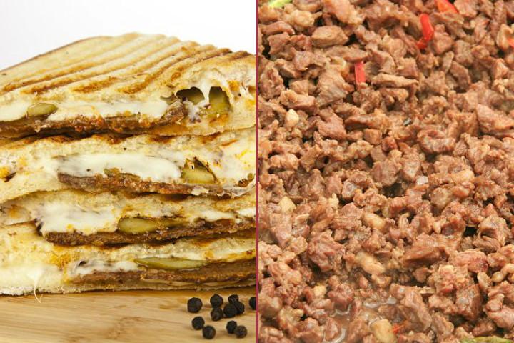 Kurban Bayramı Kahvaltısı: Kavurmalı Yumurta, Kavurmalı Tost, Söğüş Domates-Salatalık