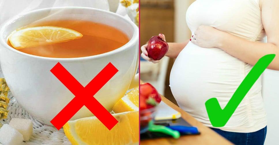 Hamilelerin uzak durması gereken yiyecekler