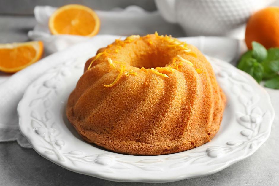 Portakallı Yumuşacık Kek Tarifi