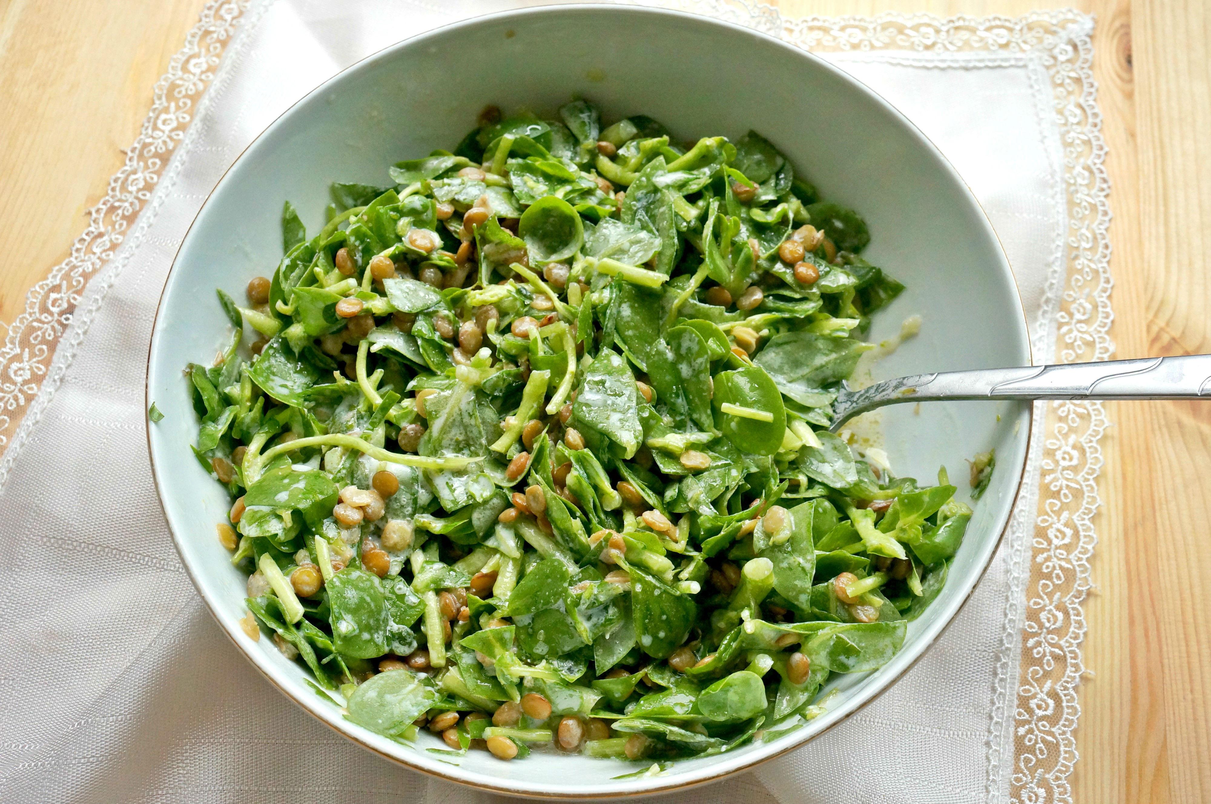 Mercimekli Semizotu Salatası Tarifi