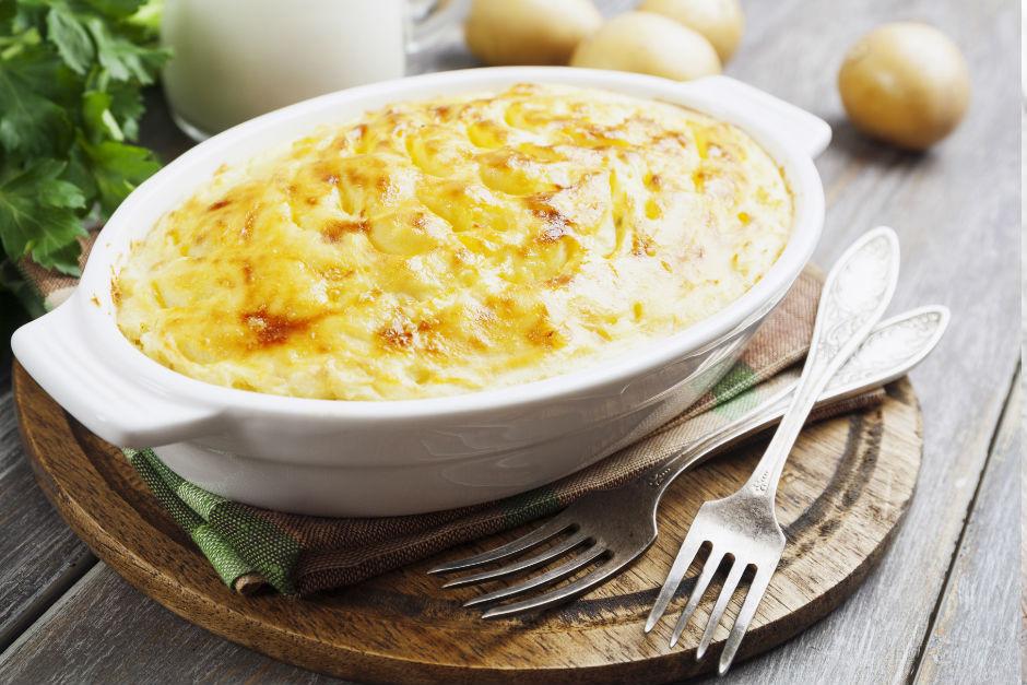 Fırında Sütlü Patates Püresi Tarifi