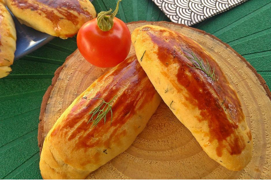 Pastane Usulü Dereotlu Poğaça Tarifi