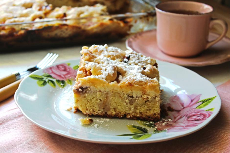 Şeftalili Labneli Pasta Tarifi