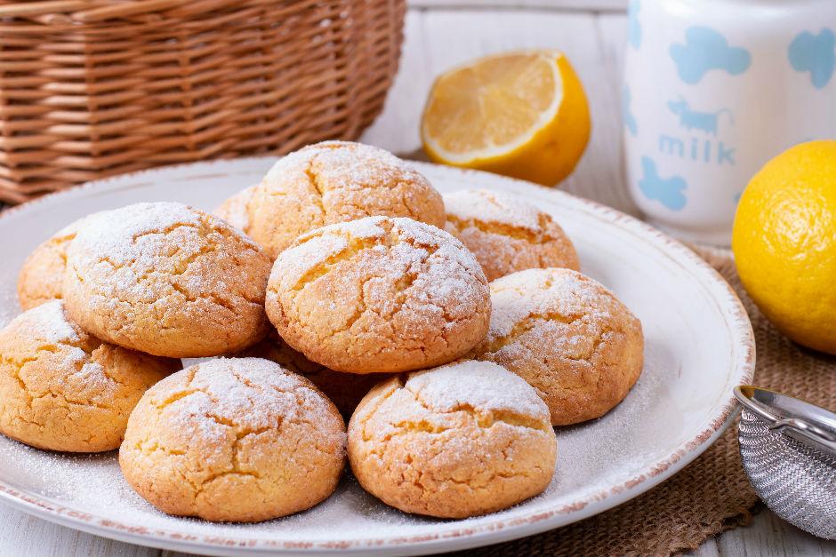 Margarinsiz Limonlu Kurabiye Tarifi