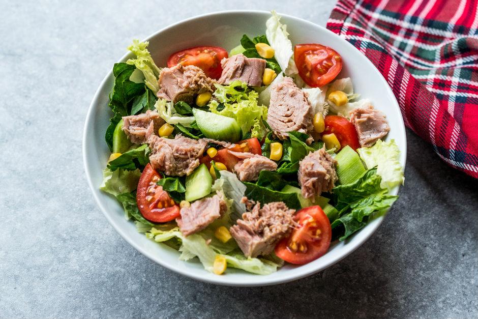 Ton Balıklı Yaz Salatası Tarifi