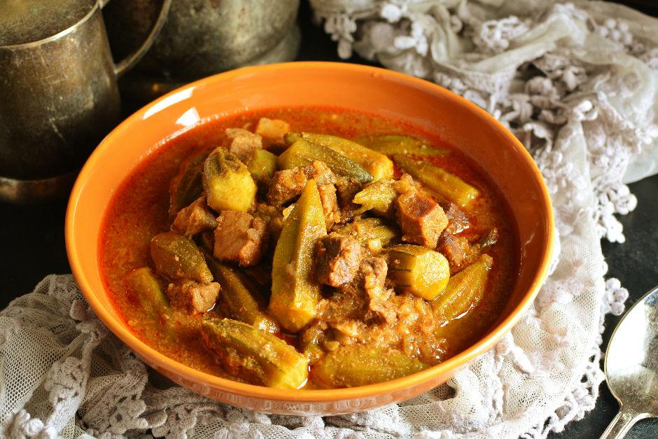 Etli Bamya Tarifi