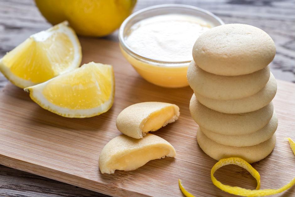 Limon Dolgulu Kurabiye Tarifi