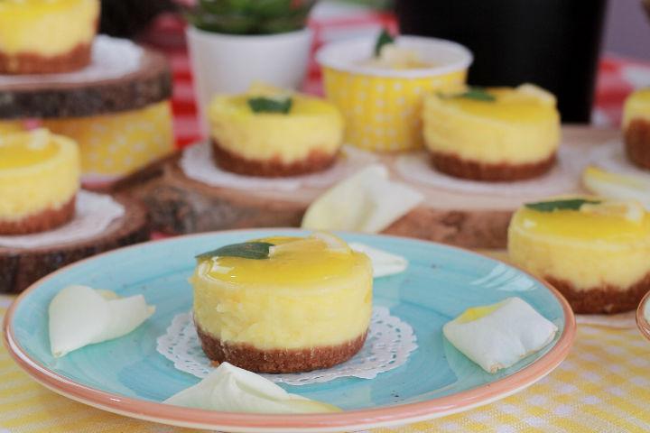Limonlu Mini Cheesecake Tarifi