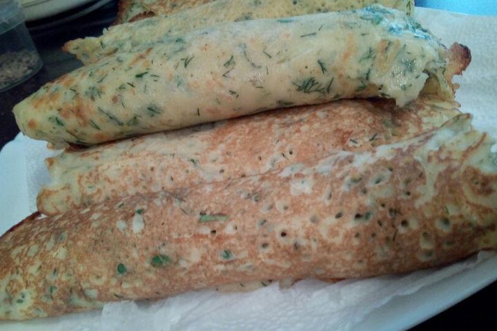 Glutensiz Kabak Krep Tarifi