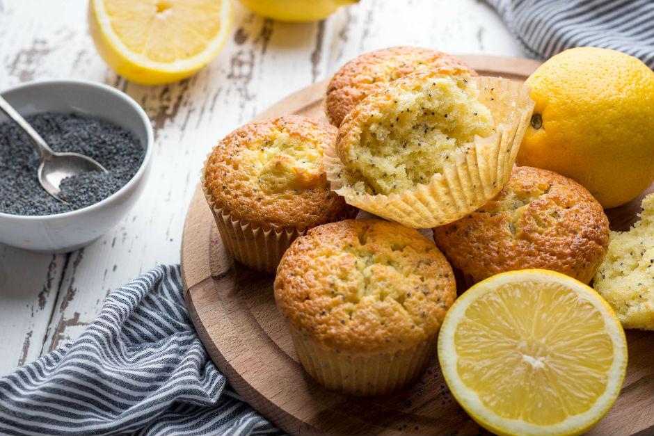 Limonlu Haşhaşlı Muffin Tarifi