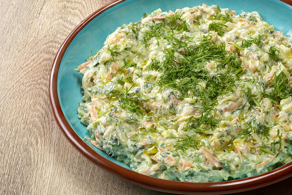 Havuçlu Nuraniye Salatası Tarifi