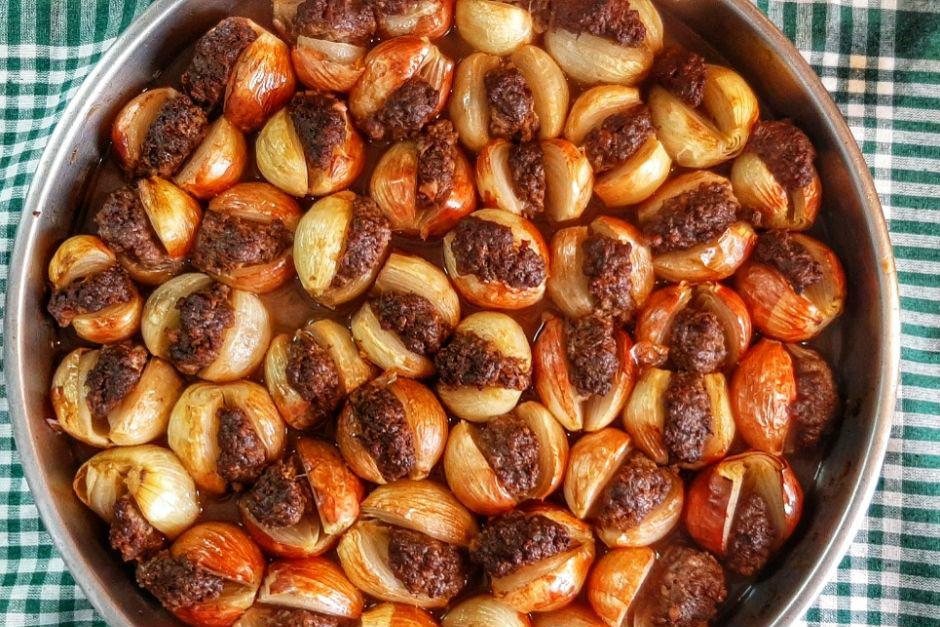 Nar Ekşili Soğan Kebabı Tarifi