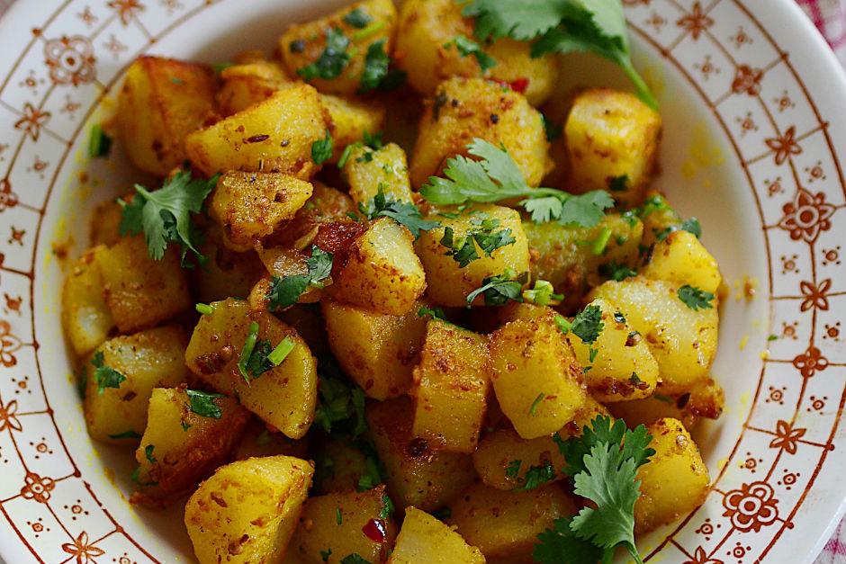 Zerdeçallı Patates Kavurması Tarifi