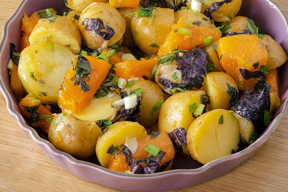 Bal Kabaklı Patates Salatası Tarifi