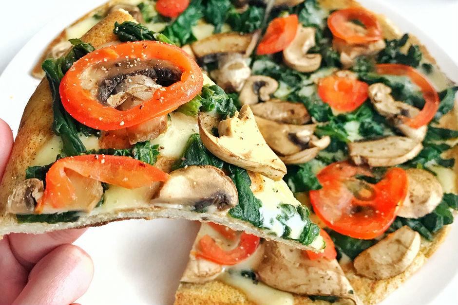 Yulaf Unlu Pratik Pizza Tarifi