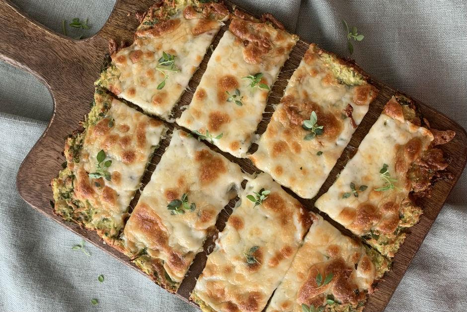 Kabak Tabanlı Unsuz Pizza Tarifi
