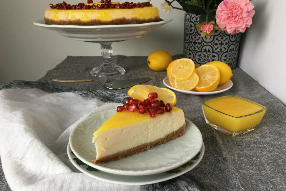 Soslu Limonlu Cheesecake Tarifi