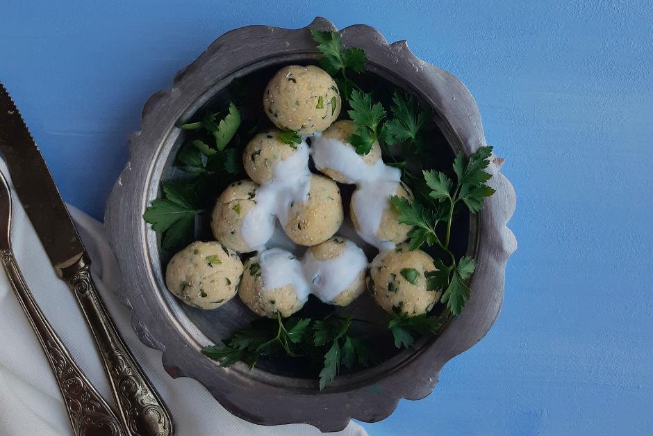 Labneli Patates Topları Tarifi