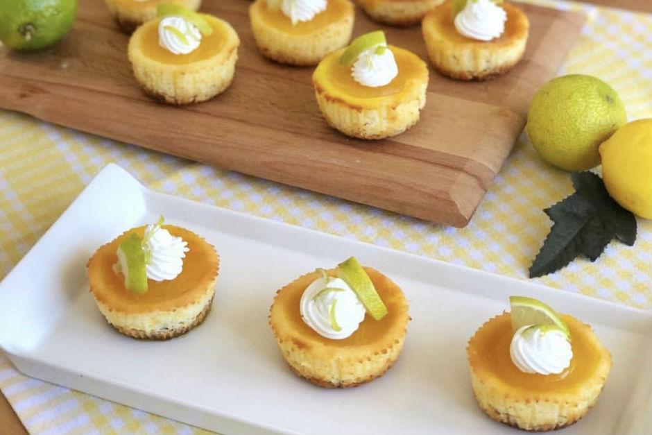 Limonlu Minik Cheesecake Tarifi