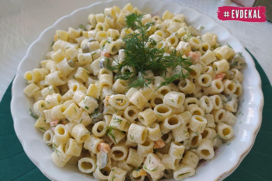 Pratik Makarna Salatası Tarifi