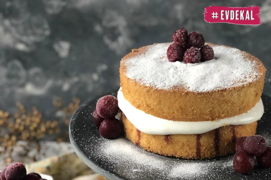 Victoria Sponge Cake Tarifi