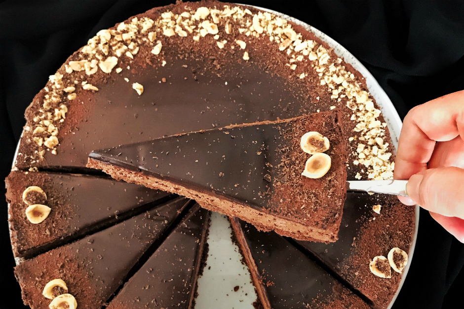 Çikolatalı Pişmeyen Cheesecake Tarifi