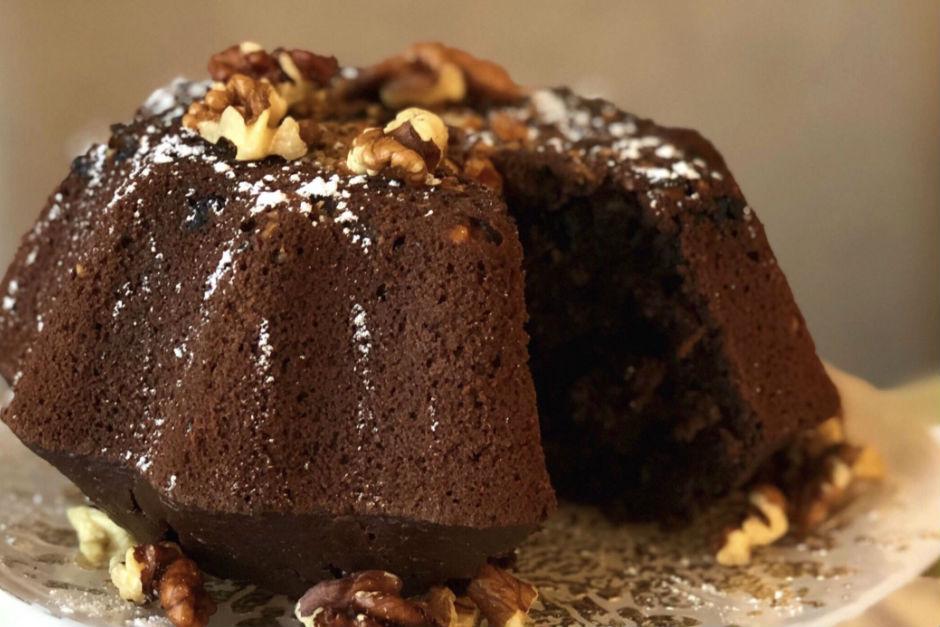 Kakaolu Çaylı Kek Tarifi