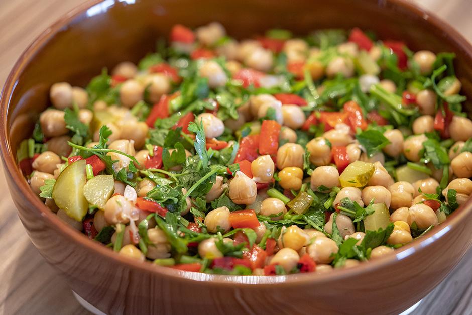Pratik Nohut Salatası Tarifi