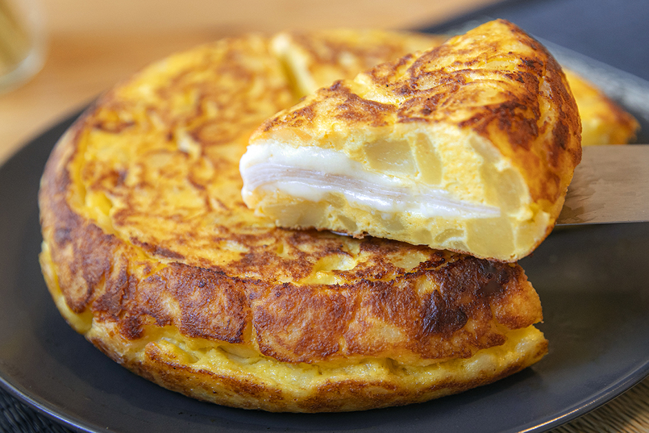 Sandviç Usulü İspanyol Omleti Tortilla Tarifi