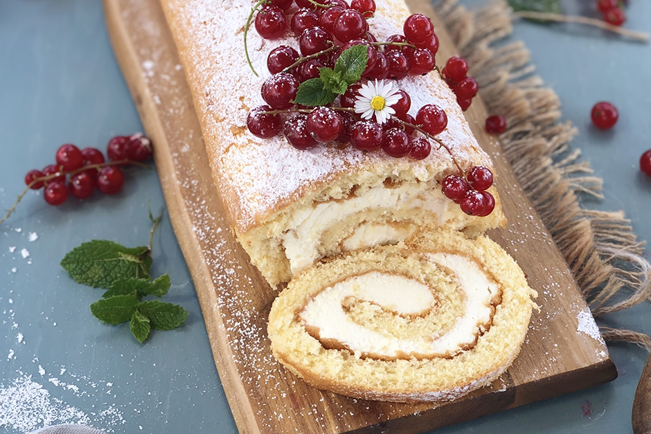 Kremalı Rulo Pasta Tarifi