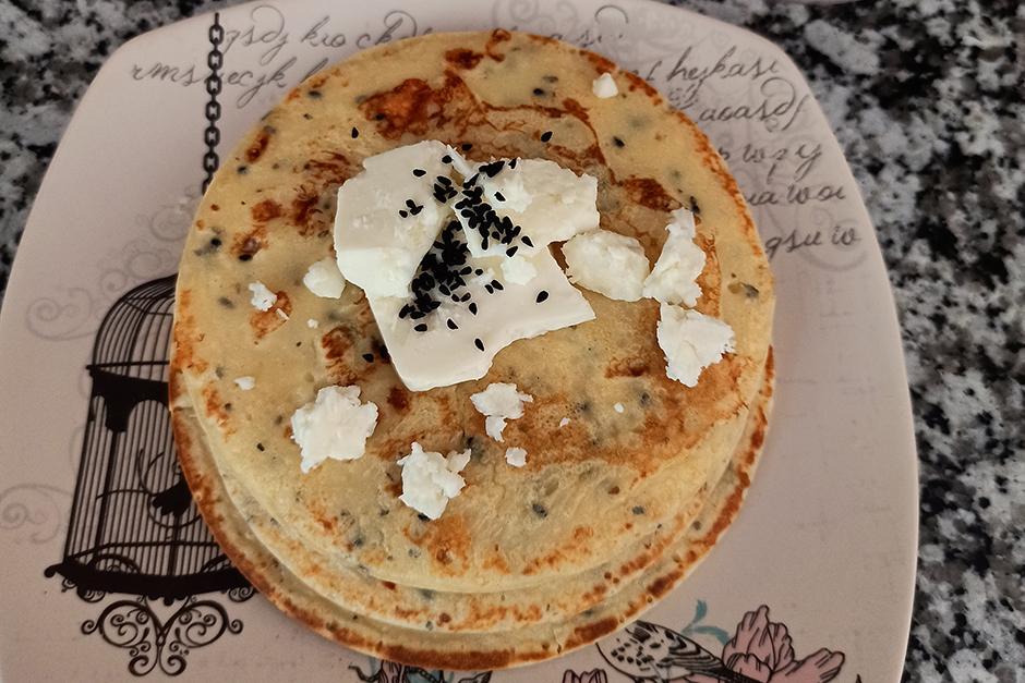 Çörek Otlu Peynirli Krep Yavrusu Tarifi