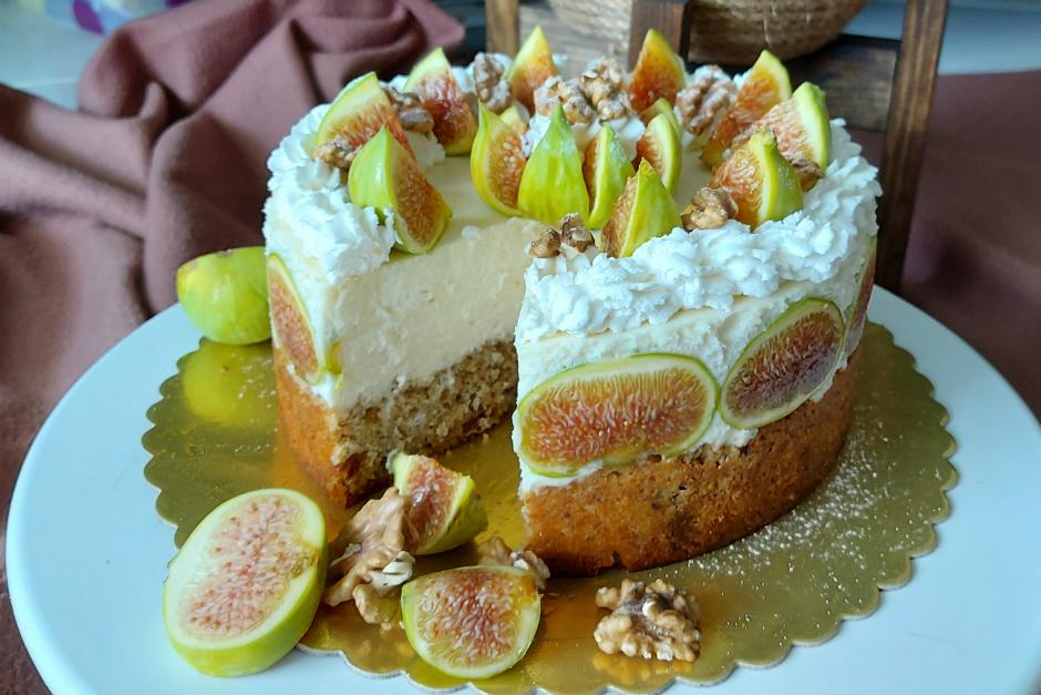 İncirli Yaz Pastası Tarifi