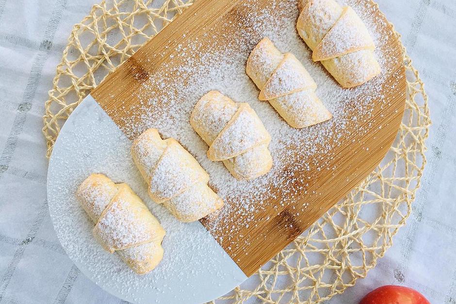 Pastane Usulü Elmalı Kurabiye Tarifi