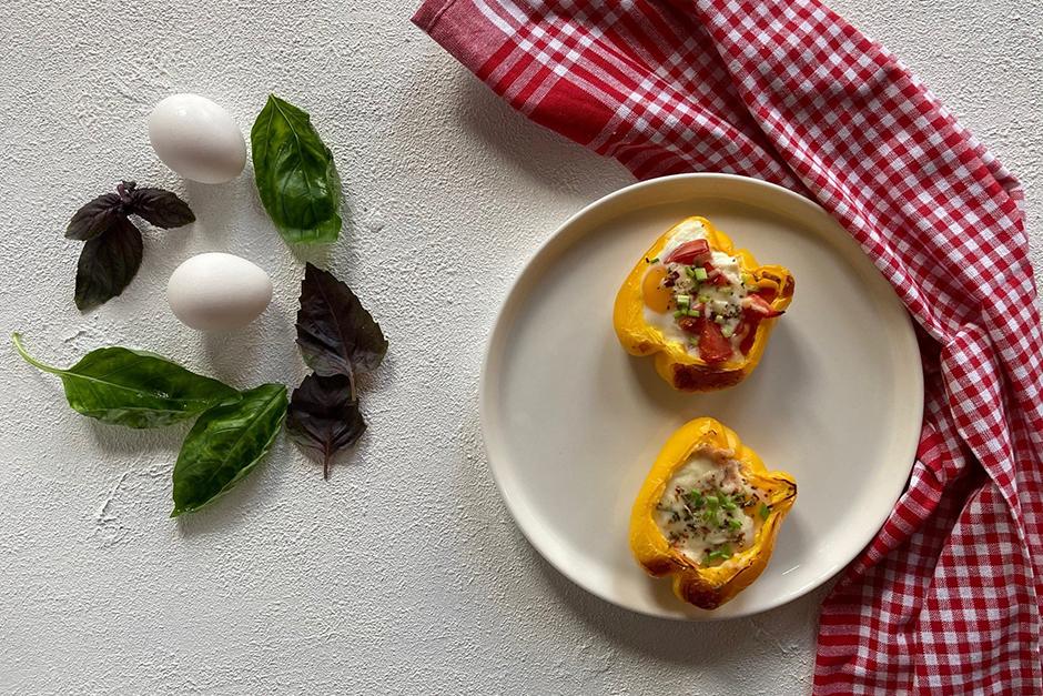 Sarı Biberli Peynirli Kahvaltılık Tarifi