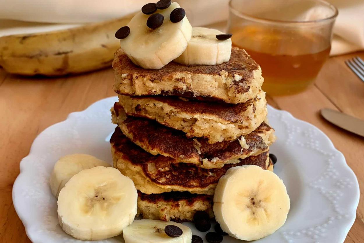 Badem Unlu Fit Pancake Tarifi