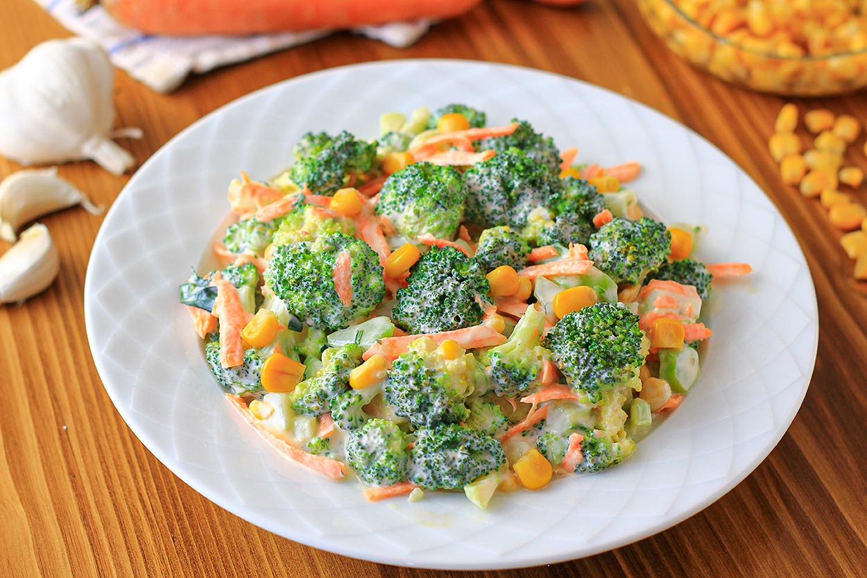 Havuçlu Brokoli Salatası Tarifi