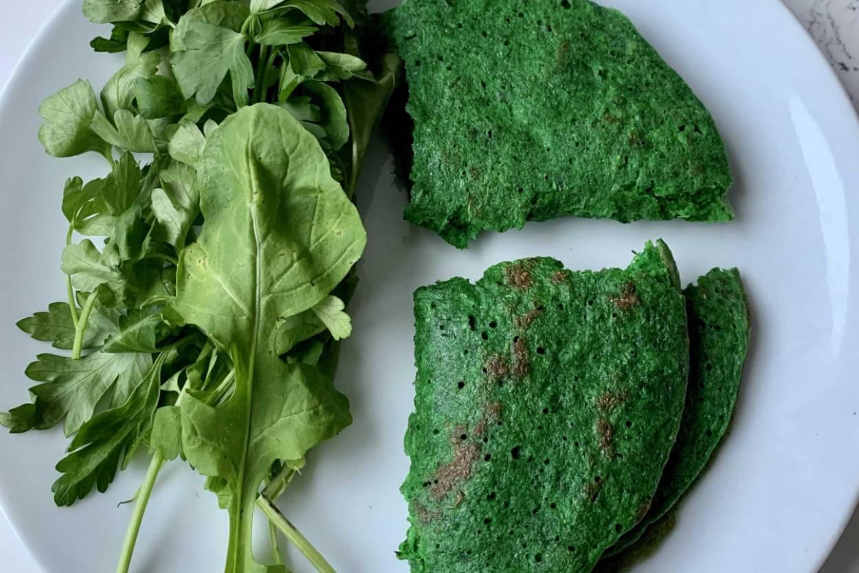 Yeşil Sebzeli Krep Tarifi