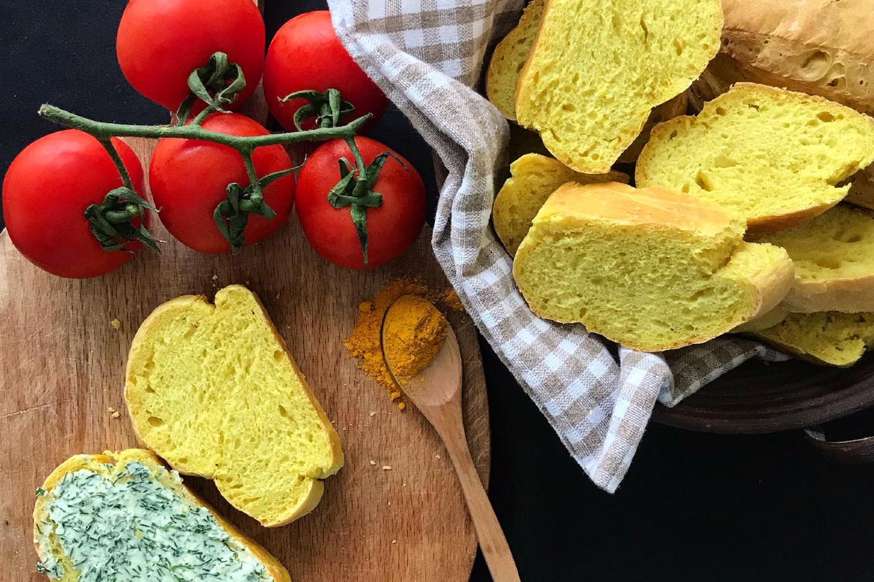 Zerdeçallı Ekmek Tarifi