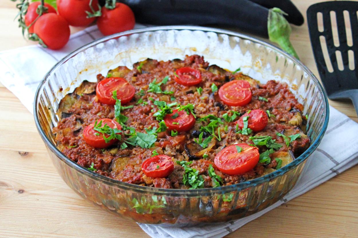 Kızartmadan Patlıcan Musakka Tarifi