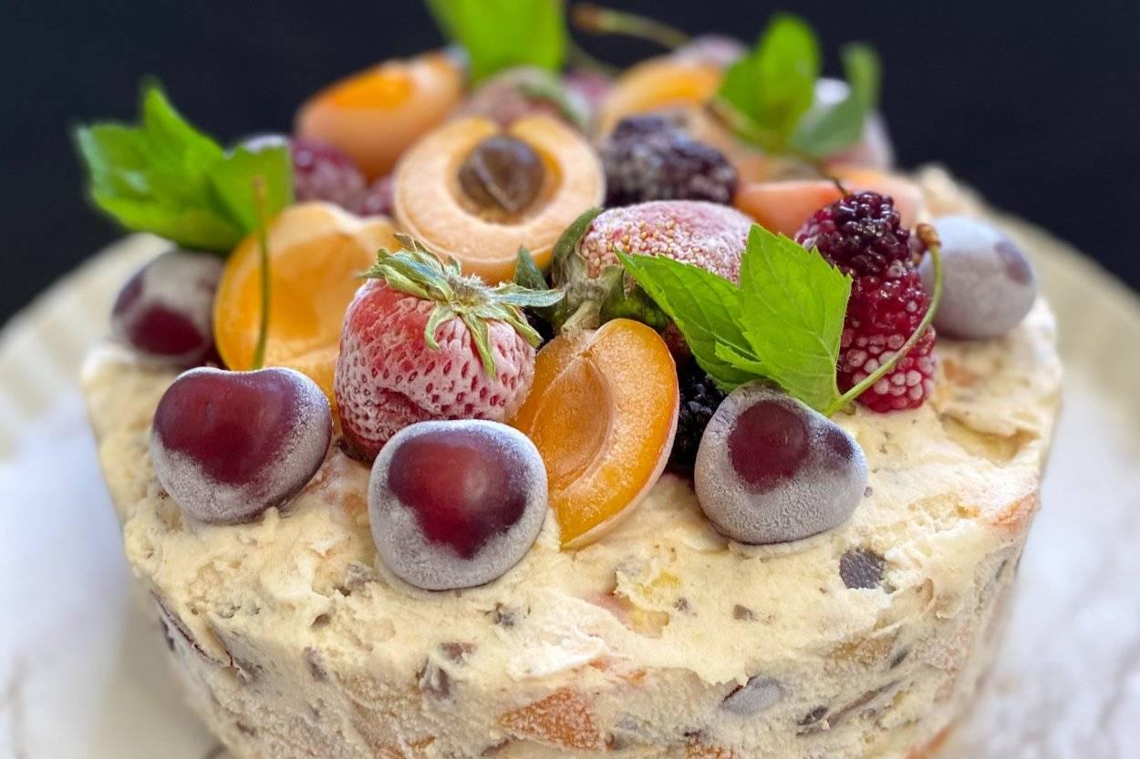 Meyveli Bisküvili Parfe Tarifi